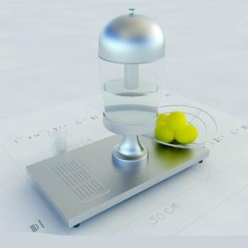 Round Juicer 3D Model