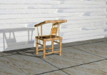 Retro bamboo chair 3d model