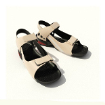 Flat bottomed sandals 3D model