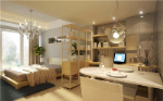 Small Huxing apartment 3D decoration model