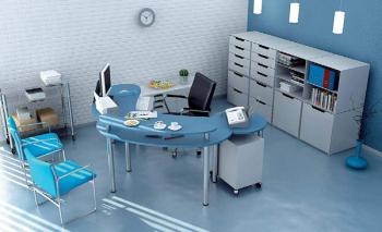 Cool office 3D model