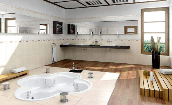 3D model of the grand bathroom
