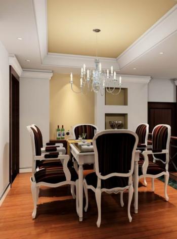 Delightful European Home Decoration Excellent Restaurant 3d Models