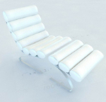 White chairs 3D Model