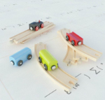 3d model toy train tracks