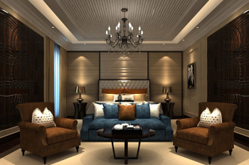 Bedroom chandelier 3d model