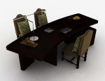 3d models of high-grade office furniture
