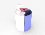 Hand sanitizer 3d model