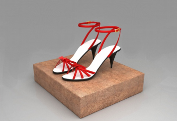 Ms. fine with sandals 3d model