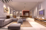 Modern style living room 3D models