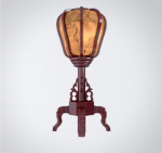 Mahogany desk lamp 3D models