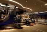 Five-star hotel lobby 3D models