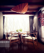 Chinese exquisite lounge 3d model