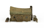Thatched roof huts Model