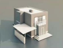 1 house Buildings / Architectural Model-9 3D Model Download