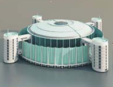 Entertainment Buildings / Architectural Model-11