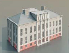 teaching buildings  / Architectural Model-14