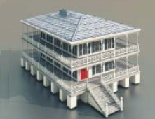 Multi-Housing / Architectural Model -30
