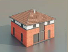 simple houses / Architectural Model-40
