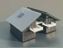 Residential with personality / Architectural Model- 45