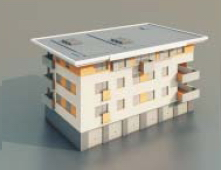 Residential buildings / Architectural Model-46