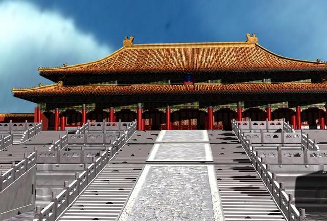 Beijing Palace Museum ancient architecture (Containing Materials) 3D