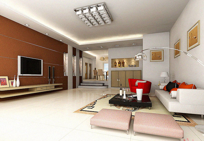 The living room / indoor space
