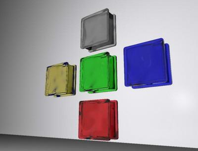 Glass Bricks 3d Model Download Free 3d Models Download