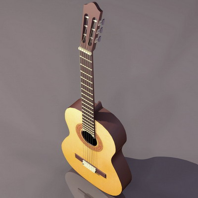musical instruments guitar 6 3d model download free 3d models download. Black Bedroom Furniture Sets. Home Design Ideas