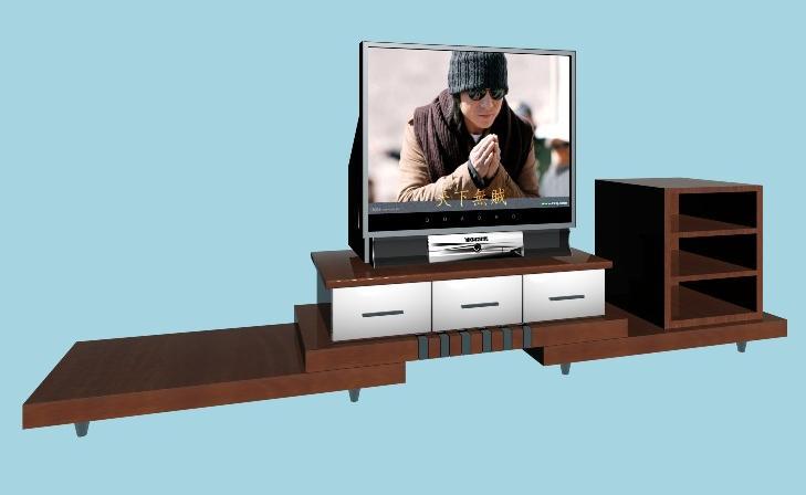 furniture tv counters 2 3d model download free 3d models download. Black Bedroom Furniture Sets. Home Design Ideas