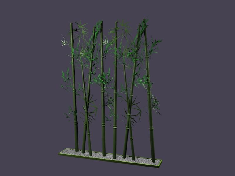 Plant 001 Bamboo 3d Model Download Free 3d Models Download