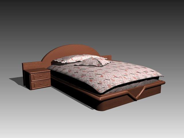 Furniture beds a038 3D Model Download Free 3D Models Download. Bed Farnichar