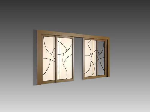 Door 001 doors 124 3d model download free 3d models download for Sliding glass doors autocad