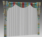 Furniture - curtains 008