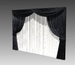 Furniture - curtains 027