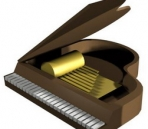 Musical instruments - piano