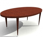 2007/3d model library /   Continental table(68)