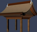 classical Chinese pavilions  /  outdoor constructions  (10)