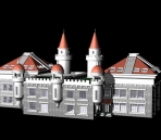 4 sets  Continental Construction / Castle