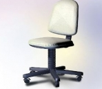 Office furniture model - office chairs
