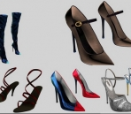 Several women Shoes