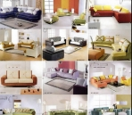 A number of sofa collection