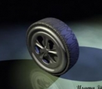 Model car wheel Tire