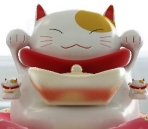 Lucky cat ceramic 3D model