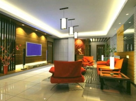 living-room design soft light