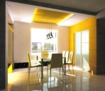 Dining Room design - sunny day