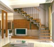 Escalier dans un minimalisme maison