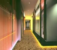 Hallway of a Spa/Sauna