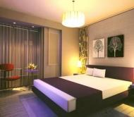 Bedroom model for medium room