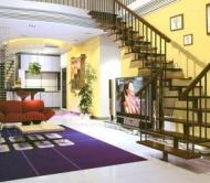 Escalera y Sala